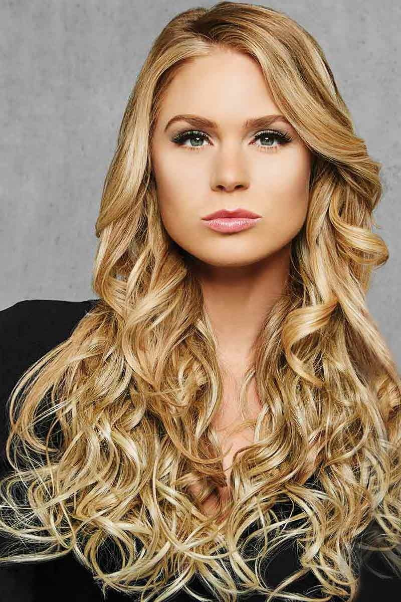 Hairdo 22in Curly Haarextension – 1 gewelltes Haarteil